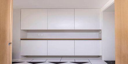 130平米复式现代简约风格储藏室设计图
