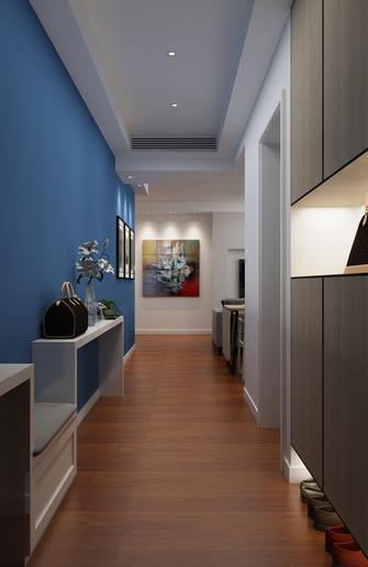 120平米三室一厅混搭风格走廊欣赏图