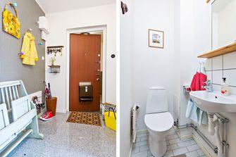 100平米三室两厅混搭风格走廊效果图