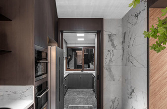 140平米别墅现代简约风格玄关设计图