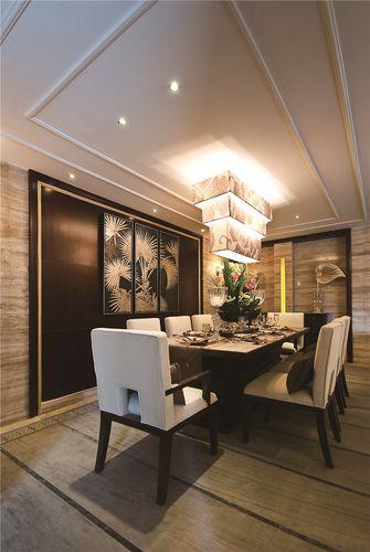 70平米东南亚风格餐厅图片