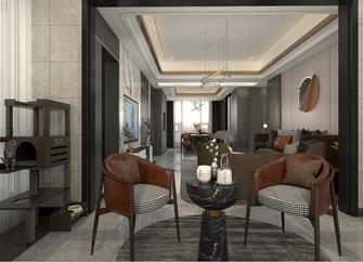140平米三室两厅混搭风格阳光房设计图