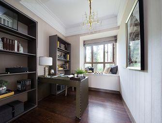 130平米三室两厅地中海风格书房装修效果图