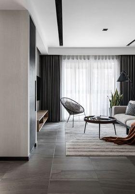 110平米三室一廳現代簡約風格客廳裝修案例