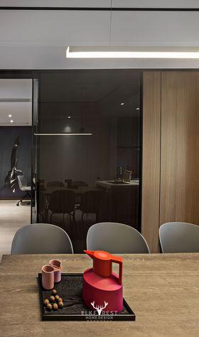 豪華型130平米三室兩廳現代簡約風格書房效果圖