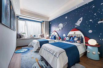 130平米三中式风格儿童房设计图
