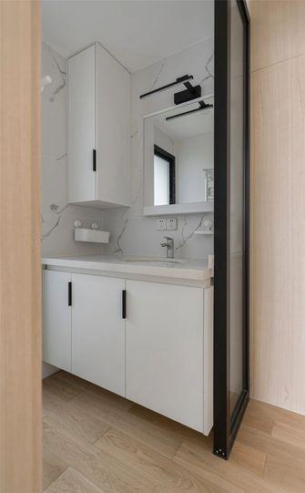 120平米三室一厅日式风格卫生间欣赏图