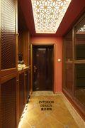 130平米东南亚风格玄关设计图