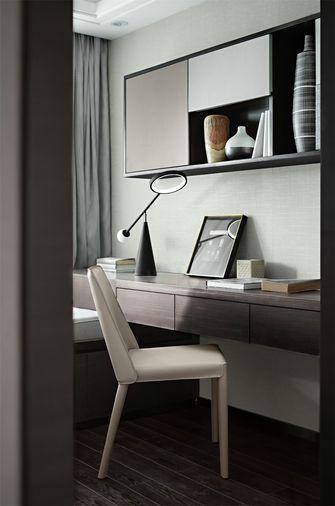 110平米三室两厅中式风格书房欣赏图