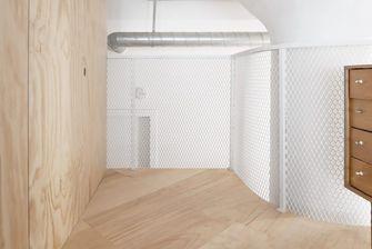 70平米复式日式风格客厅装修案例