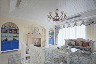 富裕型130平米三室三厅地中海风格客厅装修案例