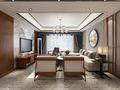 100平米三室一厅中式风格客厅图片大全