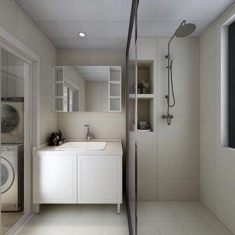 60平米一室一厅现代简约风格卫生间设计图