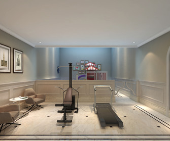 140平米别墅欧式风格健身室装修图片大全