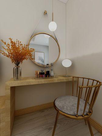 120平米三室一厅日式风格梳妆台设计图
