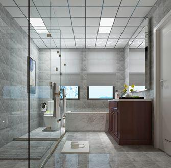 130平米别墅美式风格卫生间装修效果图