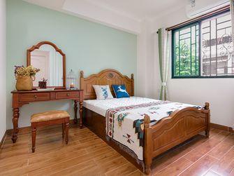 120平米四室一厅田园风格卧室装修案例