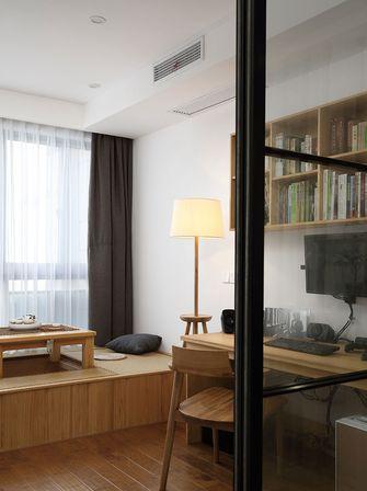 130平米三室两厅日式风格书房效果图