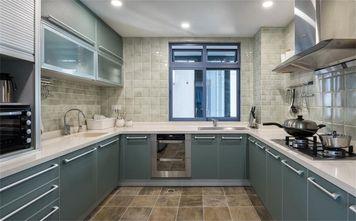 110平米美式风格厨房设计图