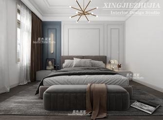 140平米四室三厅美式风格卧室图片大全