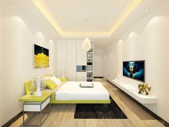 140平米三室两厅现代简约风格卧室家具设计图