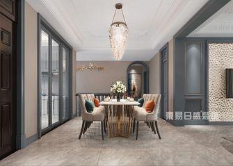 140平米复式美式风格餐厅图