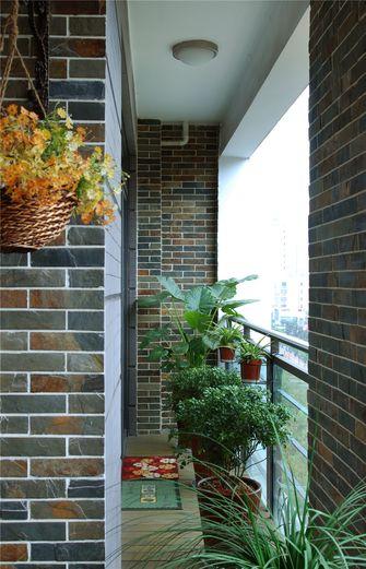 90平米三室两厅地中海风格阳台装修效果图