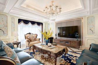 豪华型140平米复式法式风格客厅装修案例