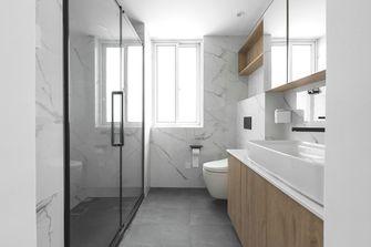 80平米三室一厅现代简约风格客厅图
