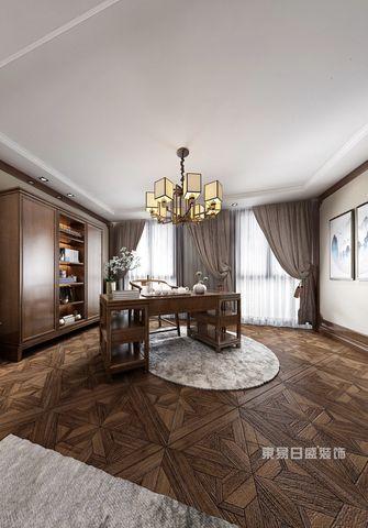 140平米别墅中式风格书房装修图片大全