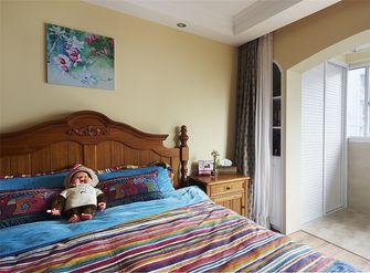 50平米一居室美式风格卧室效果图