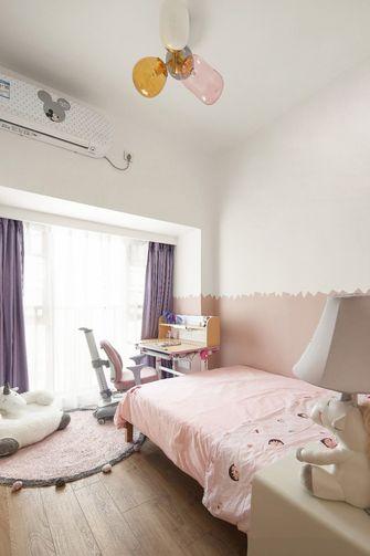 80平米三室两厅日式风格儿童房图