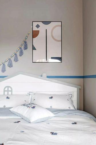 130平米三室两厅英伦风格儿童房装修图片大全