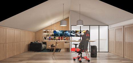 140平米四室两厅北欧风格阁楼设计图
