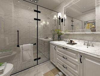 140平米三室两厅欧式风格卫生间欣赏图