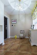 110平米三室两厅田园风格走廊图片大全