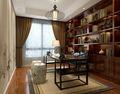 140平米复式中式风格书房设计图