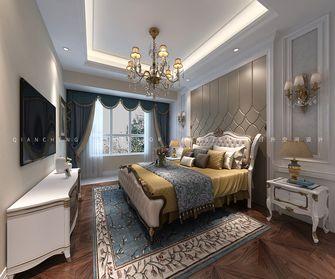 经济型140平米三室三厅欧式风格卧室装修案例