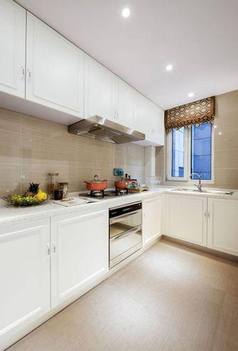 140平米四室一厅新古典风格厨房设计图