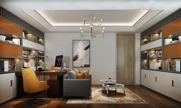 豪华型140平米别墅现代简约风格书房装修案例