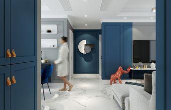 110平米三室一厅混搭风格玄关图片大全