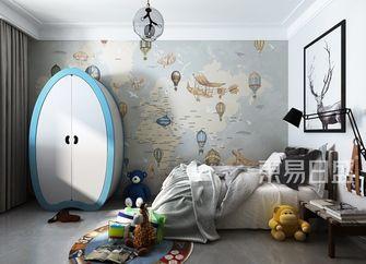 140平米四室两厅北欧风格儿童房设计图