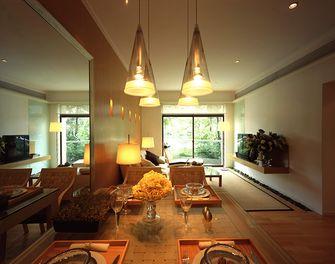 140平米四室一厅宜家风格餐厅图