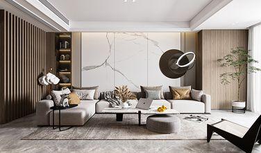 110平米三室两厅新古典风格客厅装修案例