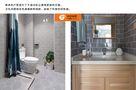 富裕型50平米一居室北欧风格厨房欣赏图