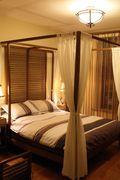 10-15万30平米以下超小户型东南亚风格卧室设计图