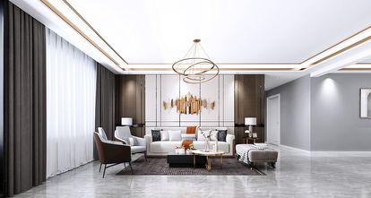 130平米三室两厅其他风格客厅效果图