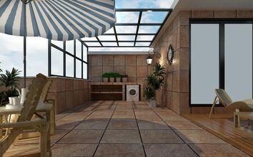 140平米别墅美式风格阳台效果图