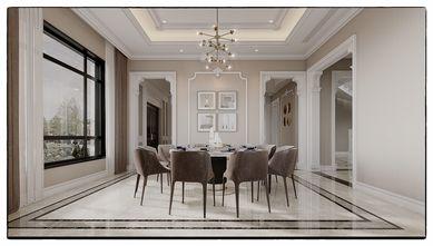110平米三室两厅法式风格餐厅装修图片大全