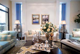 140平米三地中海风格客厅装修效果图